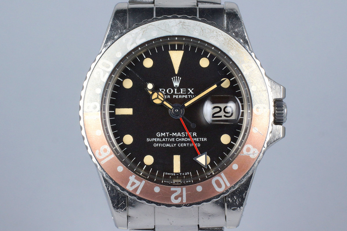 1968 Rolex GMT 1675 Mark I Dial photo, #0