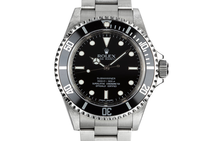 2011 Rolex Submariner 14060M Four Line Dial with Box and Papers photo