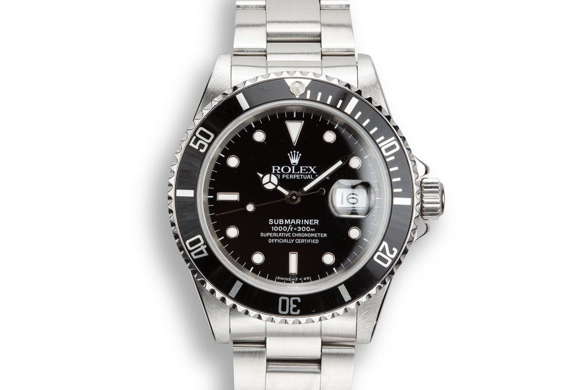 1991 Rolex Submariner 16610 photo, #0