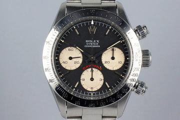 1987 Rolex Daytona 6265 Black Big Red Daytona Dial photo