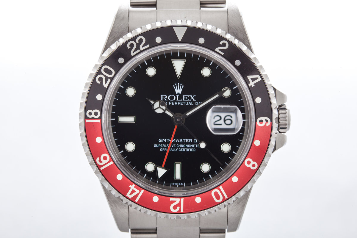 1998 Rolex GMT II 16710 with Coke Insert photo, #0