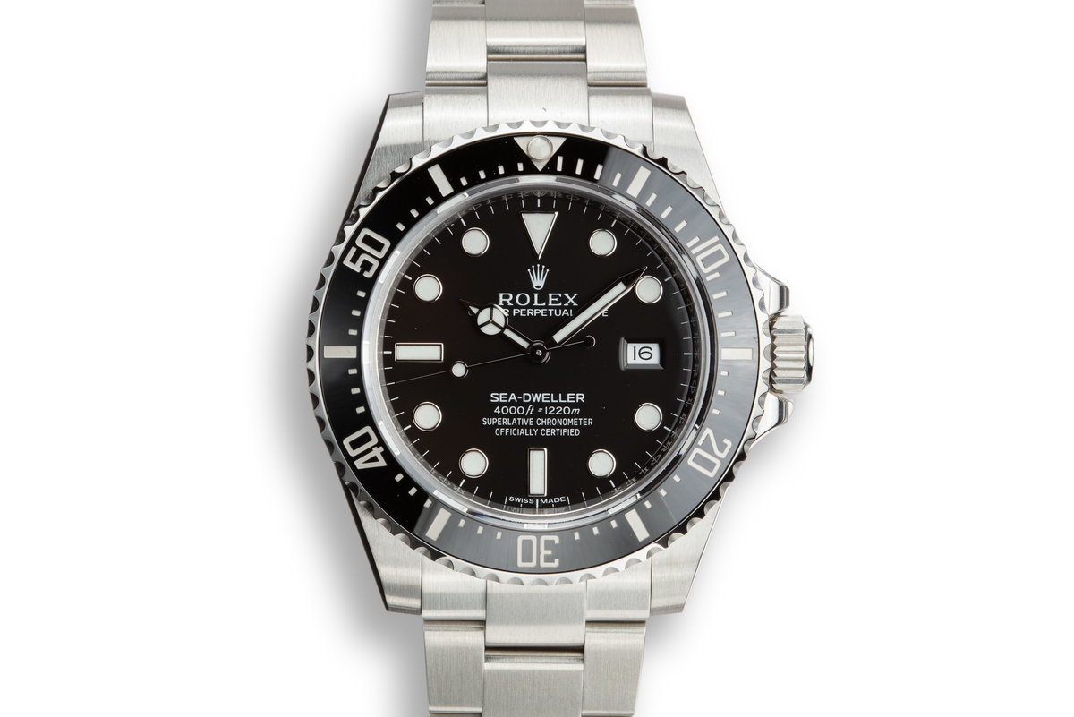 2017 Rolex Sea-Dweller 116600 with Box and Papers. photo, #0