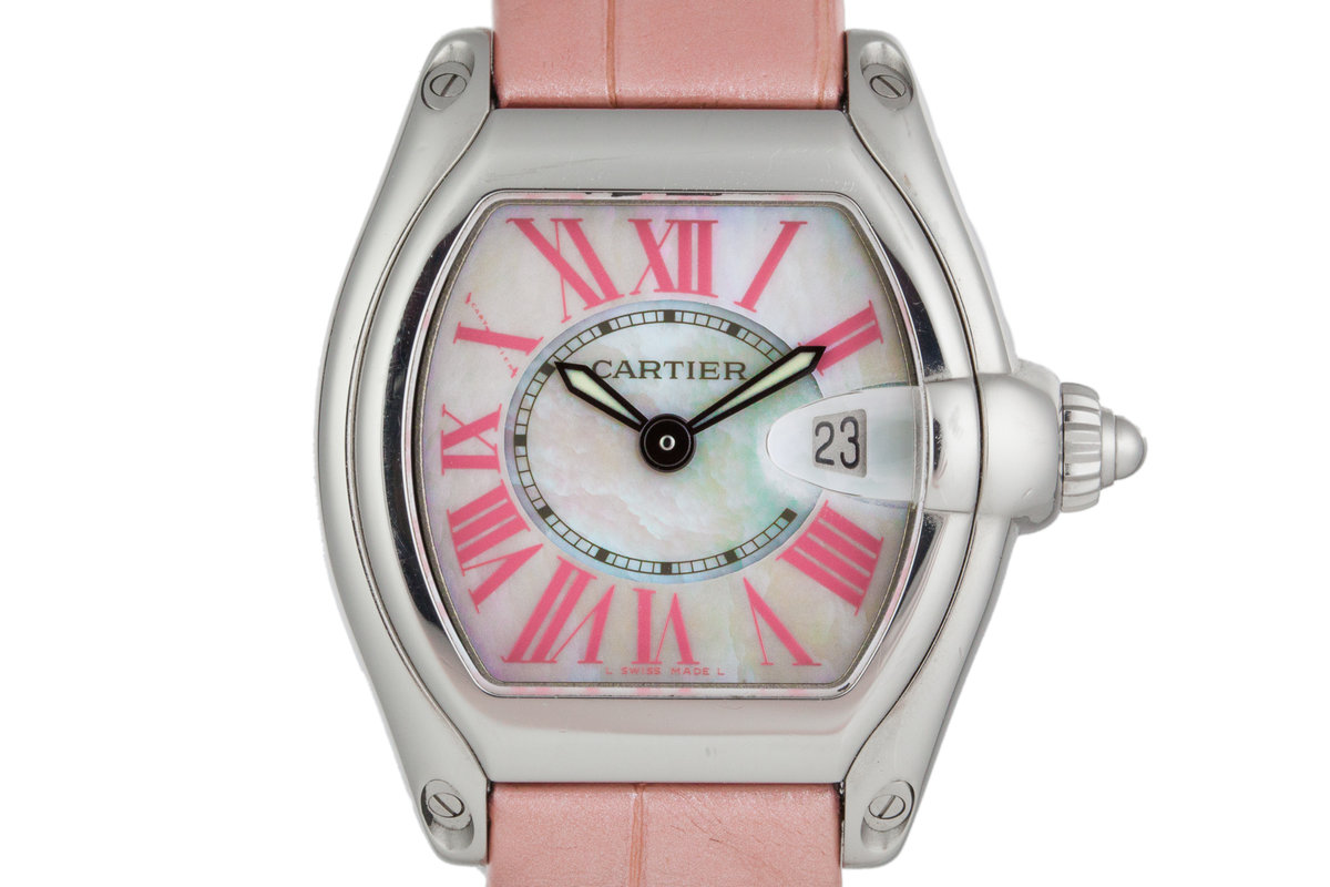 Cartier Roadster 2675 with Mother of Pearl Dial photo, #0