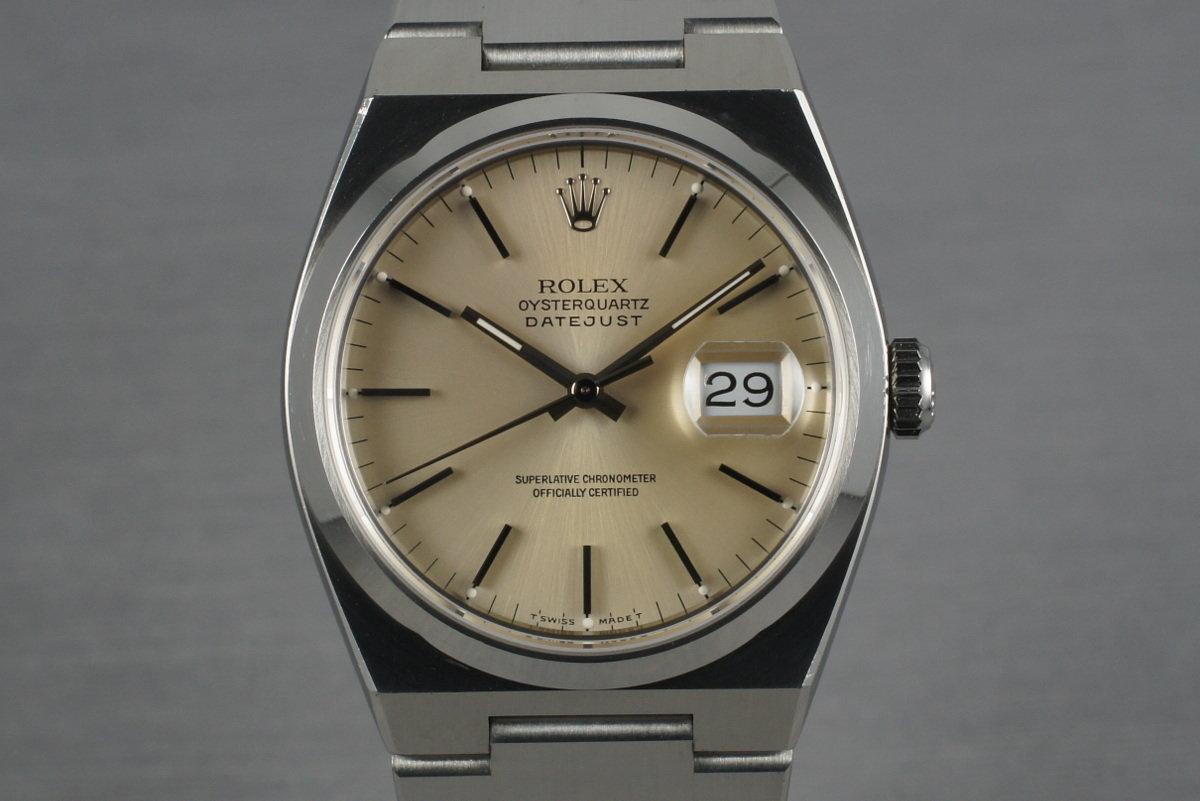 1993 Rolex OysterQuartz Datejust 17000 photo, #0