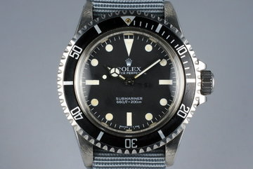 1983 Rolex Submariner 5513 Mark V Maxi Dial photo