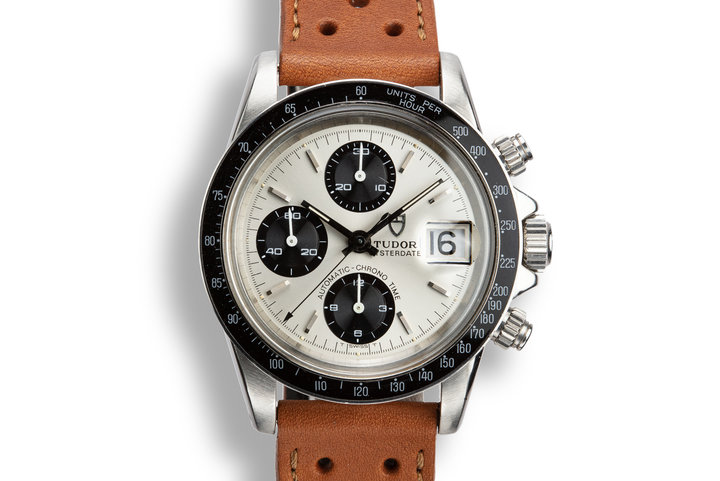 1984 Tudor Chronograph Big Block 94200 Silver Dial photo