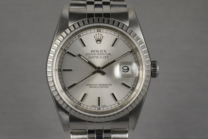 2003 Rolex DateJust 16220 with Box and Papers photo