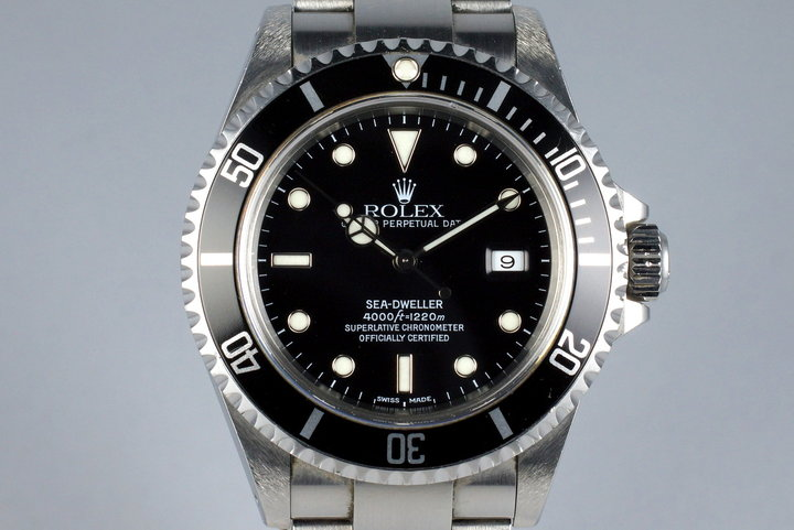 2000 Rolex Sea Dweller 16600 with Box and Papers photo