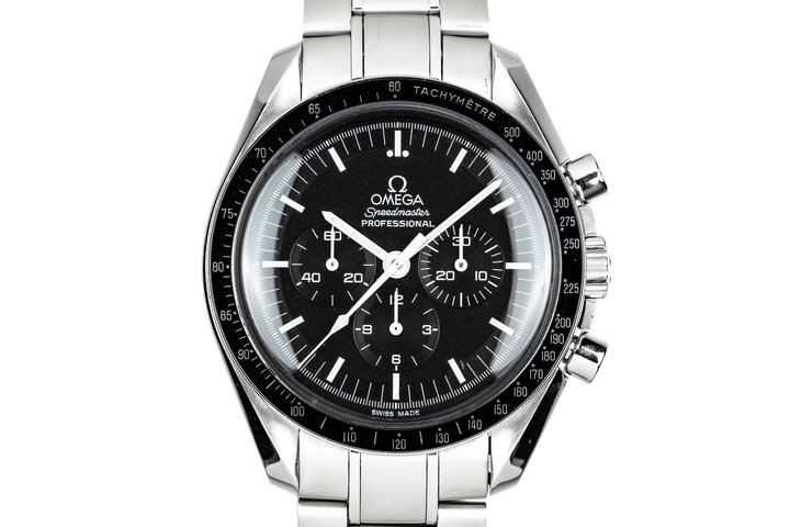 2009 Omega Speedmaster Professional 3570.50.00 with Card photo