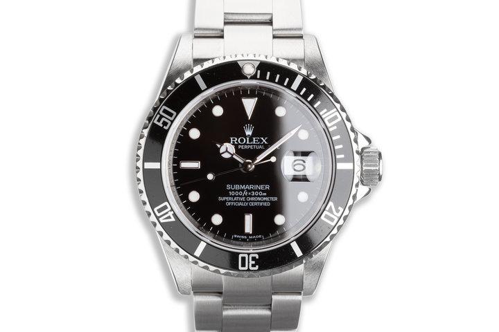 2008 Rolex Submariner 16610 photo