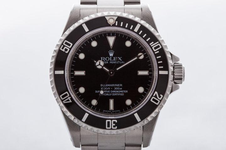 2006 Rolex Submariner 14060M 4 Line Dial photo