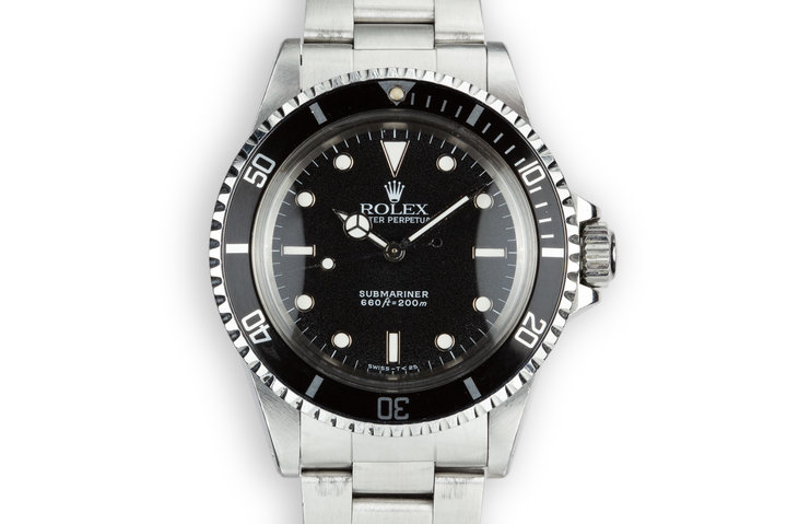 1989 Rolex Submariner 5513 photo