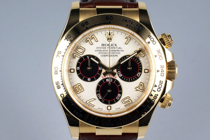 2015 Rolex YG Daytona 116518 Arabic Dial photo