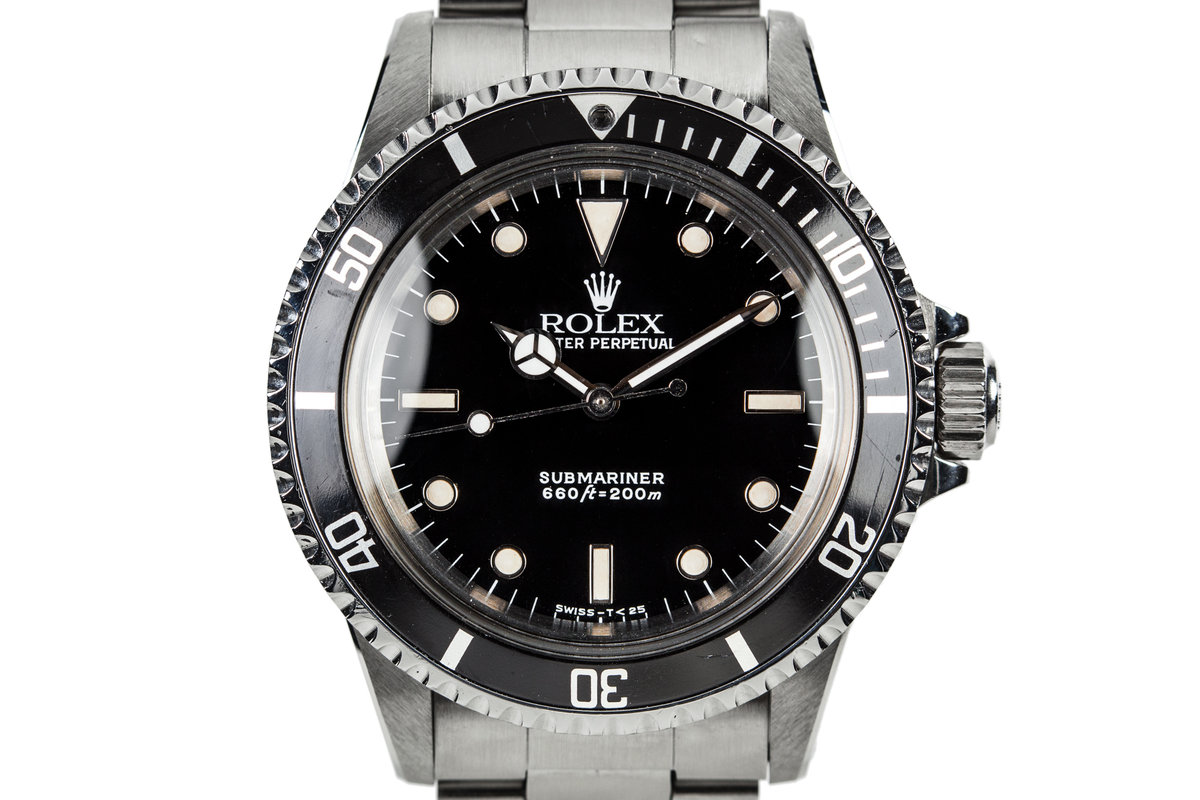 1988 Rolex Submariner 5513 with Box and Papers photo, #0