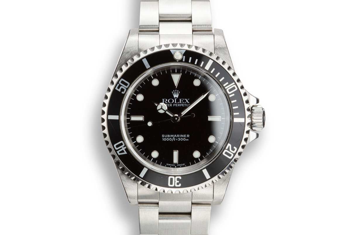 1999 Rolex Submariner 14060M photo, #0