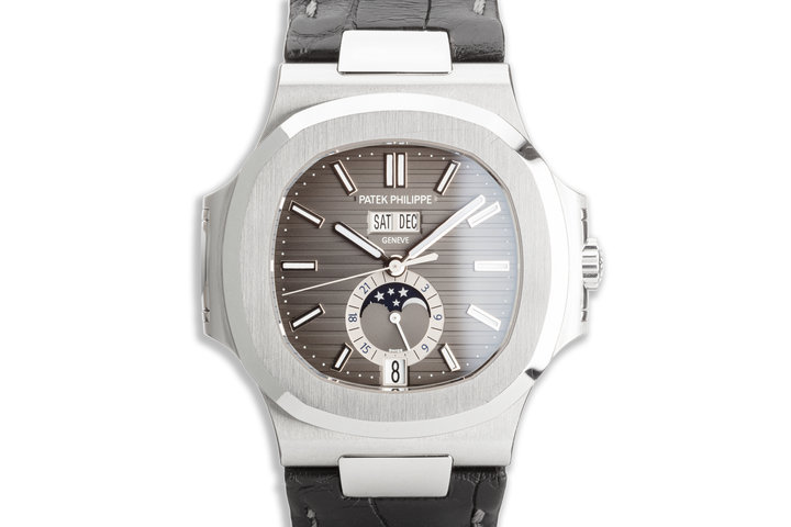 2016 Patek Philippe Nautilus Annual Calendar 5726A-001 Black Dial with Box & Papers photo