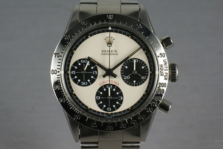 Rolex Daytona 6262 Paul Newman with Recent Service Papers photo