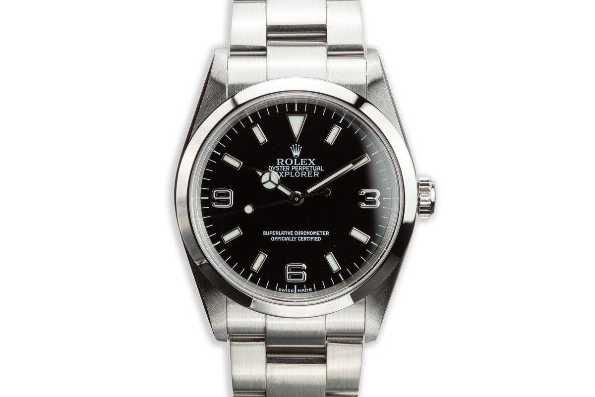 2000 Rolex Explorer 114270 with Box and Papers photo, #0