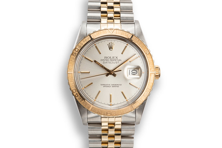 1979 Rolex Two-Tone DateJust Thunderbird 16253 Silver Dial photo