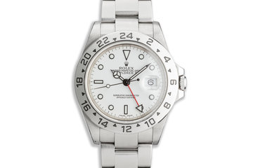 2000 Rolex Explorer II 16570 White Dial photo