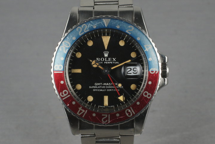 1968 Rolex GMT-Master Ref: 1675 with Mark 1 dial photo