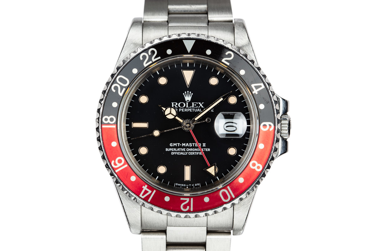 "1986 Rolex GMT-Master II 16760 ""Fat Lady"" photo, #0"