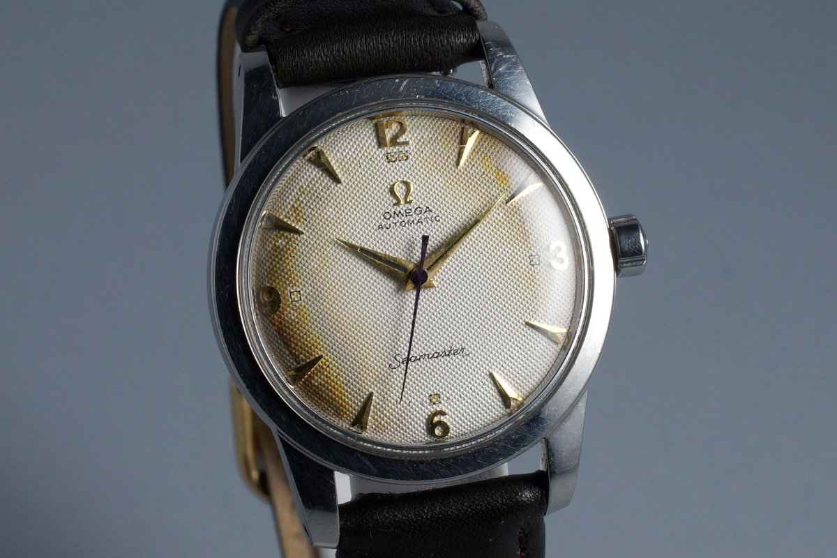 1952 Omega Seamaster CK 2577 Caliber 354 with Tropical Waffle Dial photo, #1