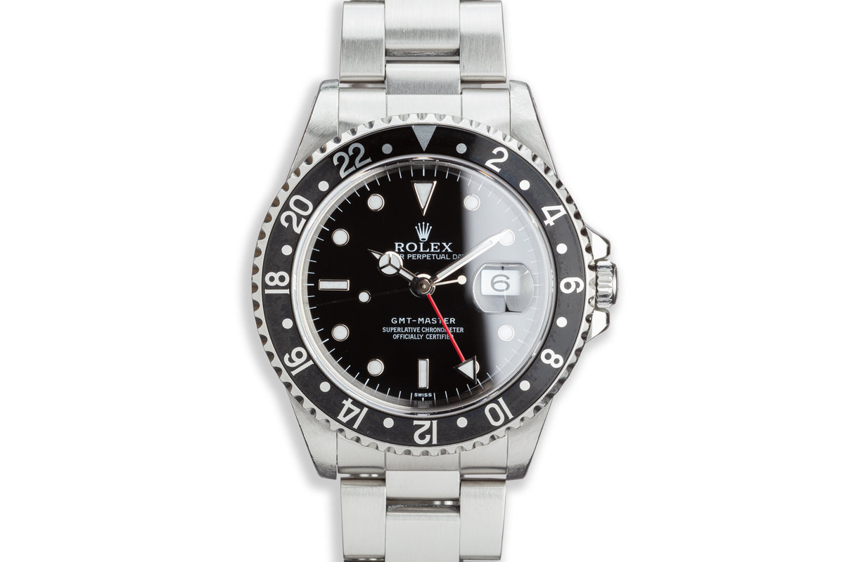 """1997 Rolex GMT-Master 16700 """"Swiss"""" with Box and Papers photo, #0"""