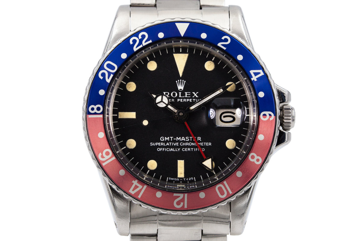 1972 Rolex GMT 1675 Mark I Dial photo, #0