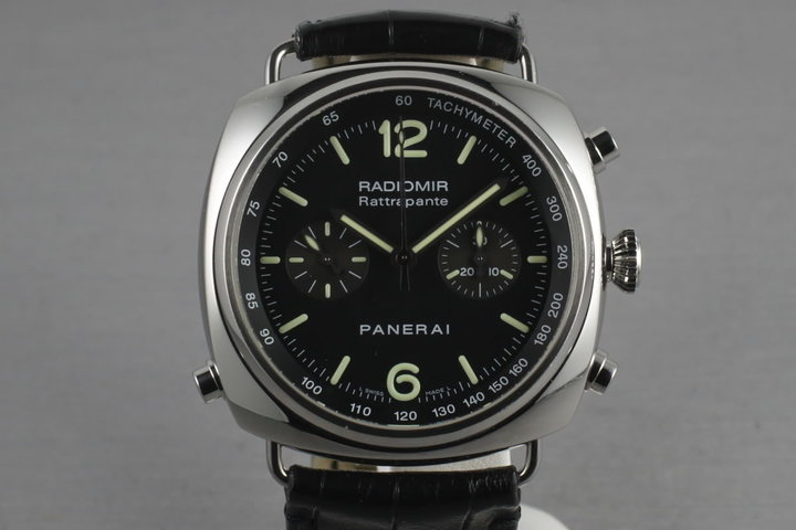 Panerai 214 Radiomir Rattrapante  previously owned by Jason Statham photo