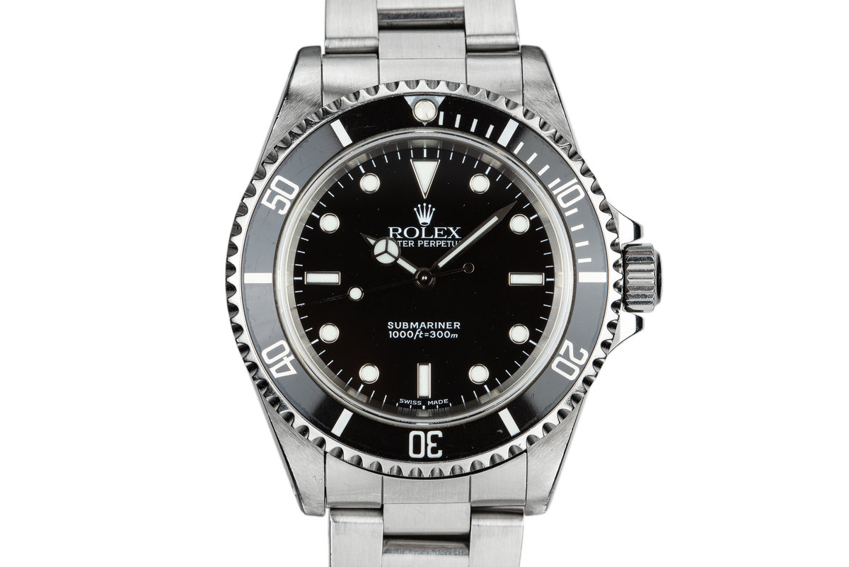 1999 Rolex Submariner 14060 photo, #0