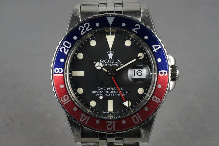 1984 Rolex GMT 16750 photo
