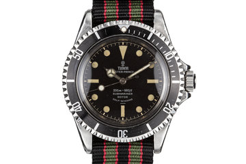 1964 Tudor Submariner 7928 with Gilt Chapter Ring Underline photo