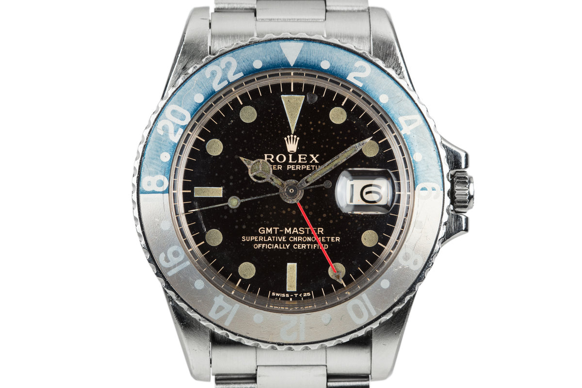 1966 Rolex GMT-Master 1675 with Spotted Gilt Dial photo, #0