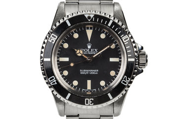 1983 Rolex Submariner 5513 with Mark V Maxi Dial photo