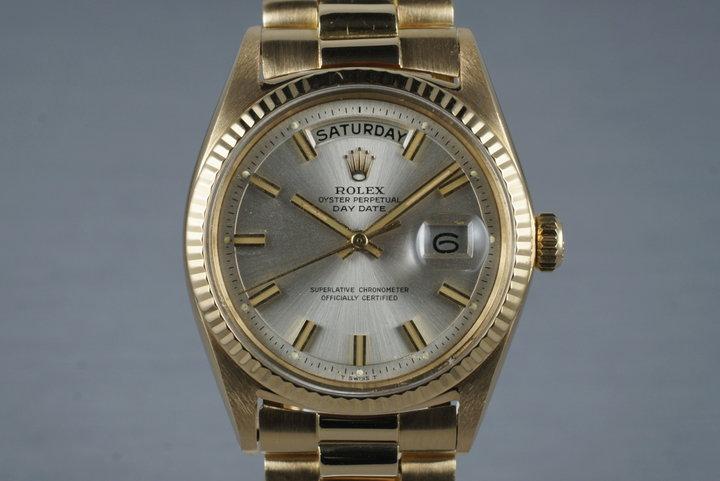 1964 Rolex YG Day-Date 1803 'Wide Boy' Dial photo