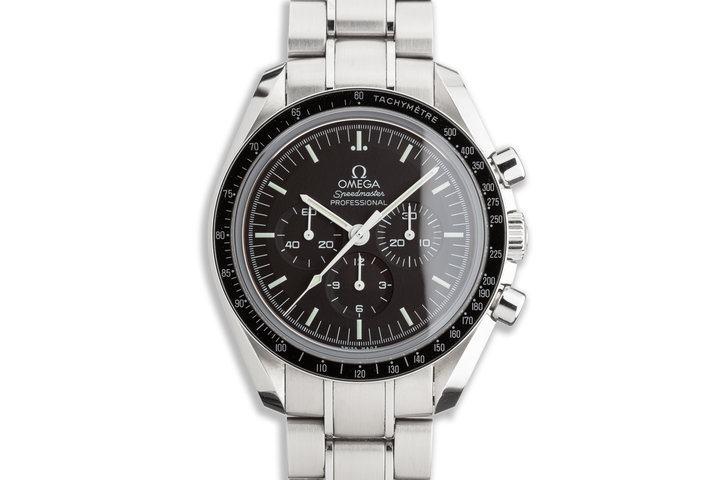 2015 Omega Speedmaster Professional 31130423001006 with Box and Card photo