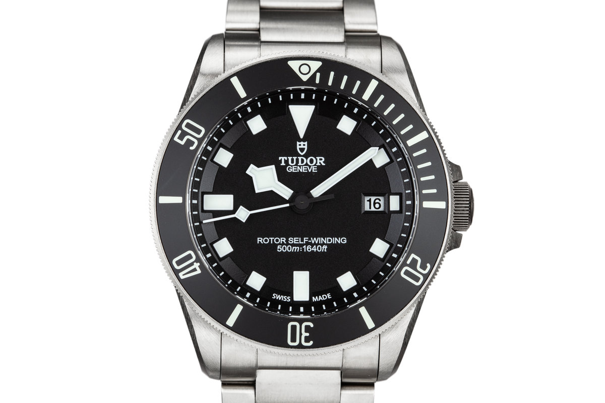 2016 Tudor Pelagos 25500TN Black Dial with Box and Papers photo, #0