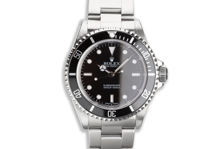 2004 Rolex Submariner 14060M with Box & Papers photo
