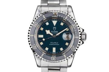 1979 Tudor Blue Submariner Snowflake 94110 photo