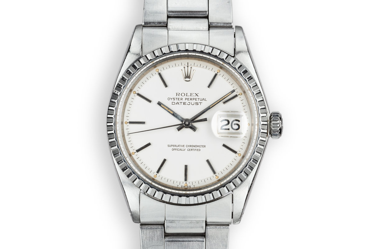 1970 Rolex DateJust 1603 with Matte Silver Dial photo, #0