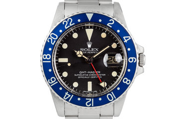 1978 Rolex GMT 1675 Blueberry photo