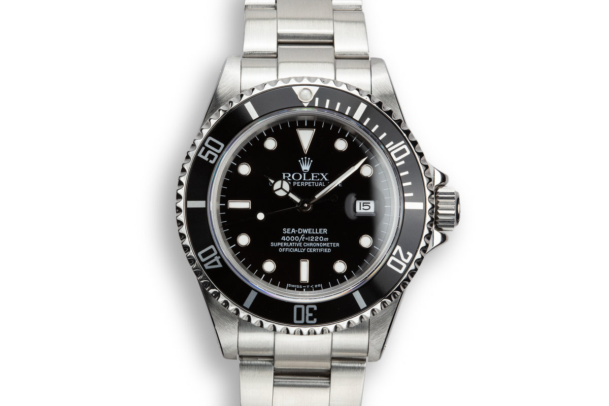 1997 Rolex Sea-Dweller 16600 with Box, Papers, Service Papers, and Dive Kit photo, #0