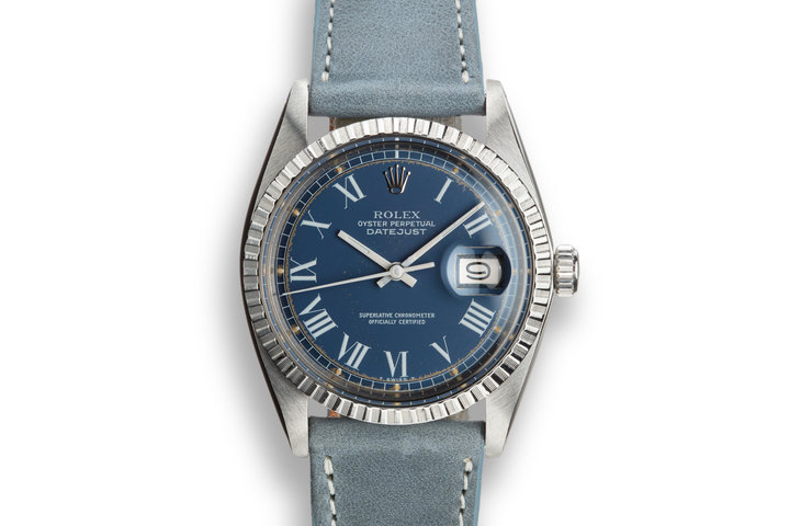 "1978 Rolex DateJust 1603 with ""Swirling Leaf"" Dial photo"