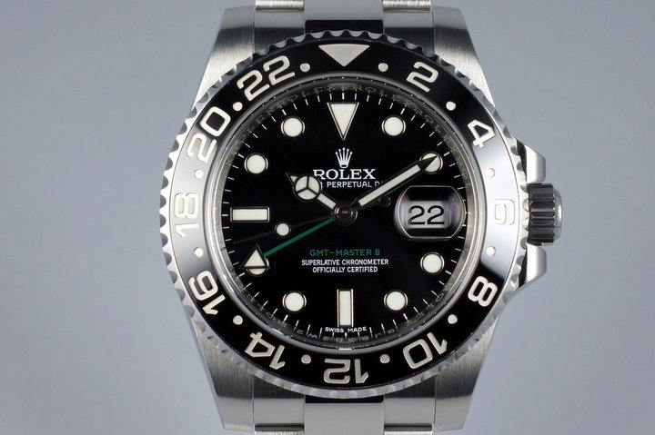 2014 Rolex GMT II 116710LN photo