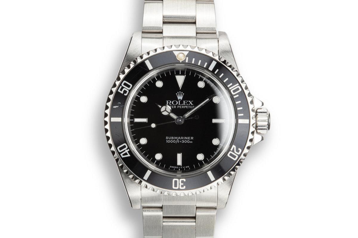 1997 Rolex Submariner 14060 photo, #0