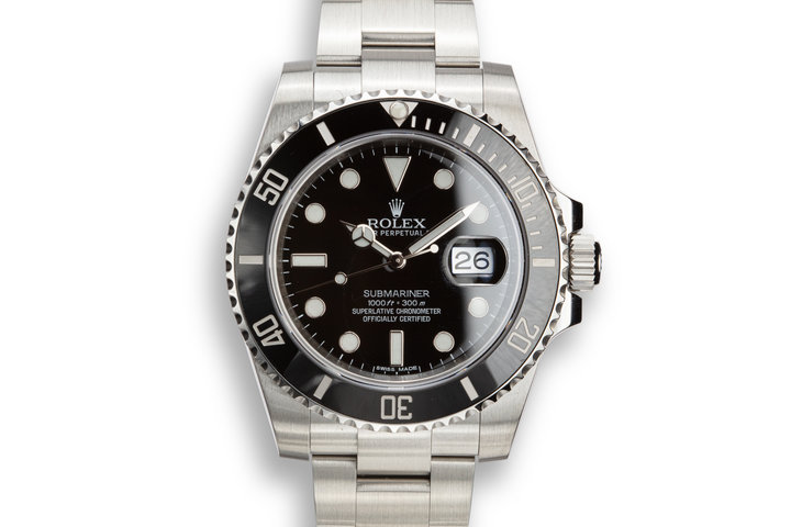 2014 Rolex Submariner 116610LN with Box and papers. photo