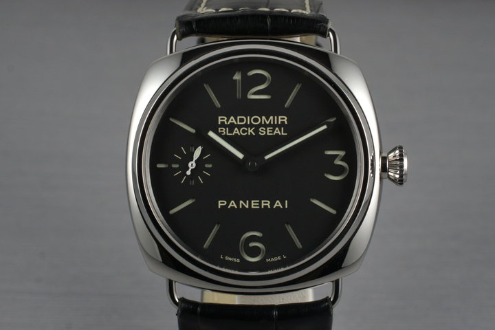 2007 Panerai Radiomir Black Seal PAM 183 with Box and Papers photo