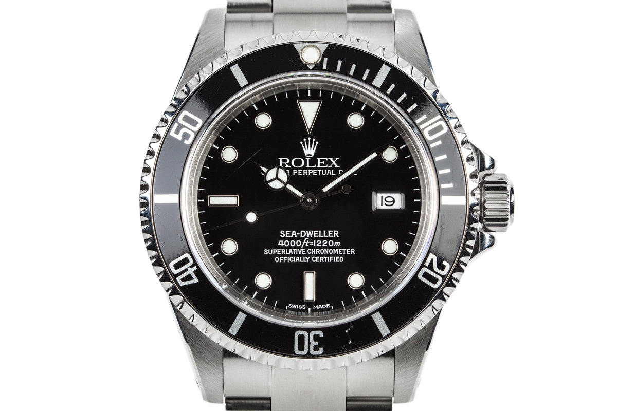 2000 Rolex Sea-Dweller 16600 with Box and Papers photo, #0