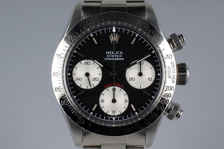 1982 Rolex Daytona 6265 Small Red Black Service Dial photo